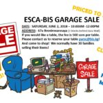 ESCA Garage Sale