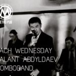 Each Wednesday at Metro Pub – Talant Abdyladaev and his Combo Band