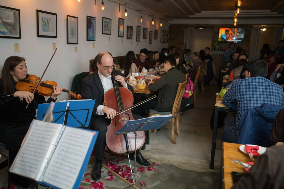 Evening of Classical Music at Chicken Star Erkindik Bishkek