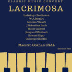 Lacrimosa - Classic music concert with string orchestra, piano and quintet vocal group. 2018-05-25