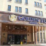 Golden 4-star Hotel in Isanova Street in Bishkek