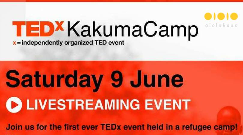 LiveStreaming of TEDx Event in Refugee Camp Kakuma Camp