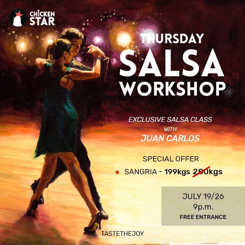Salsa Latin Dance Workshop at Chicken Star